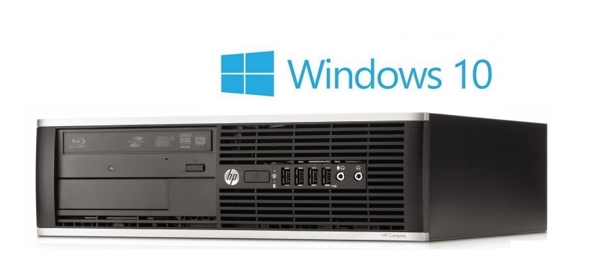 HP 6300 PRO G640 2,8 GHz/4096/160/DVD WIN10 HOME MAR PREDINSTALIRAN