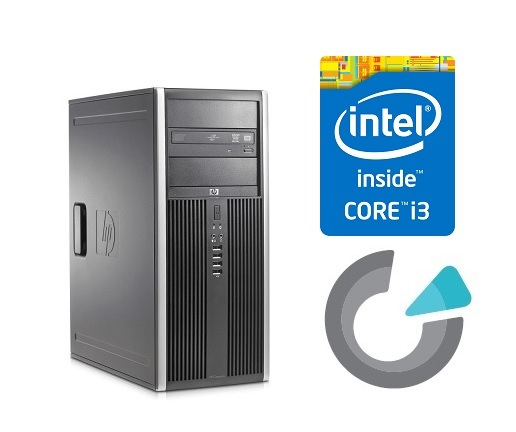 HP ELITE 8200 CMT i3-2100/4GB/250GB/DVD