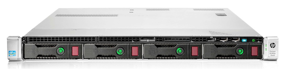 "SRV HP Proliant DL360e G8 Gen8 19"" 1U Server"